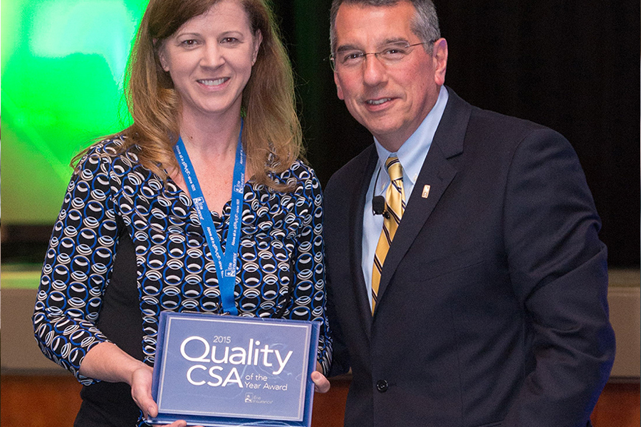 Cynthia Navit awarded Quality Customer Service Agent of the Year for the State of Wisconsin