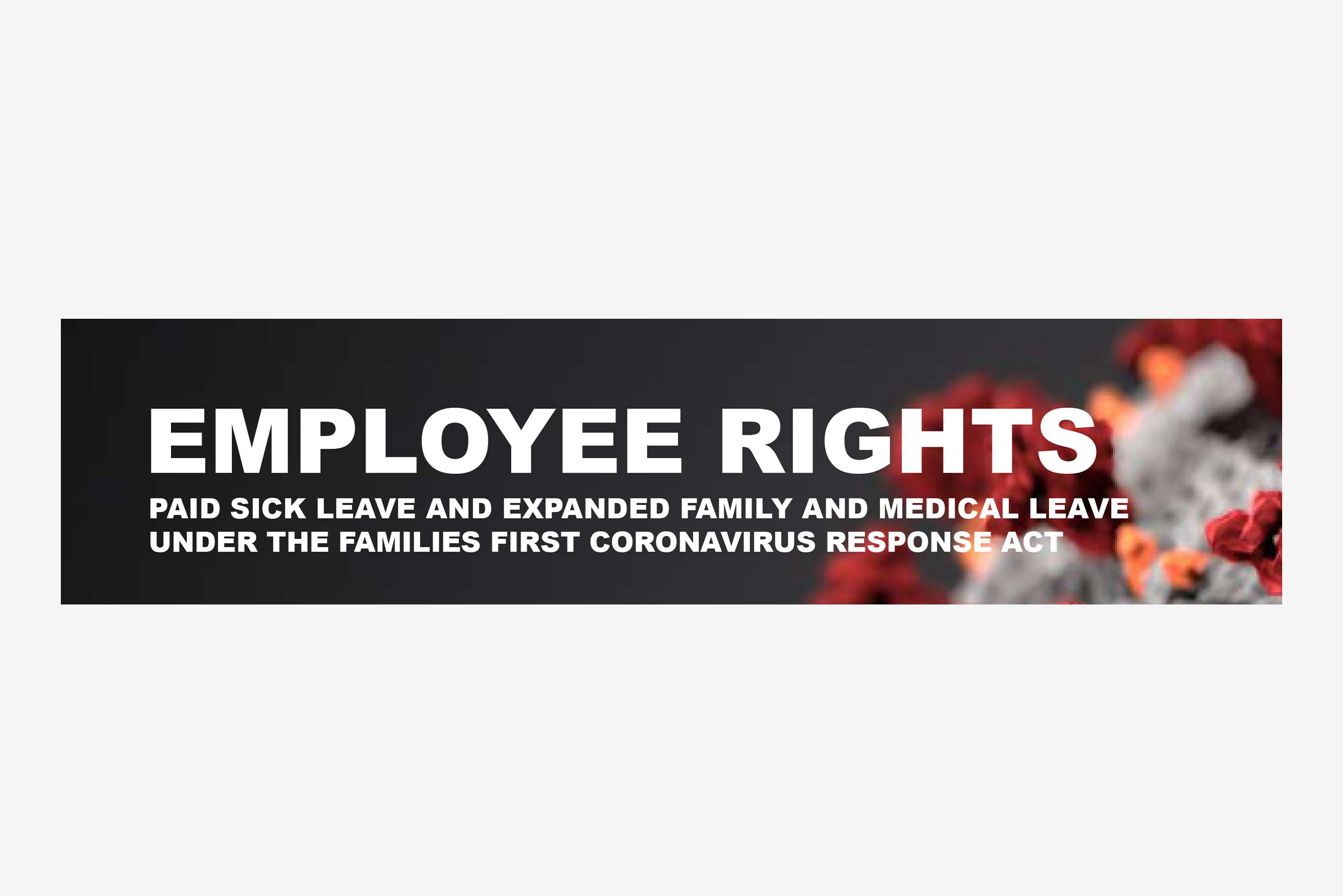 Family First Coronavirus Response Act Poster